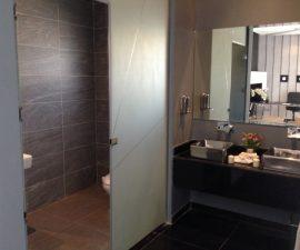 łazienka szara
